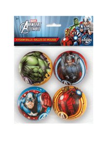 Avengers Assemble 4 foam ball set marvel toys