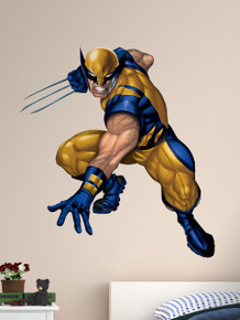 Wolverine wall graphic - Fathead Marvel Character