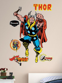Comic Thor Marvel Fathead Wall Art
