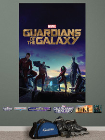 Guardians of the Galaxy Fathead wall art