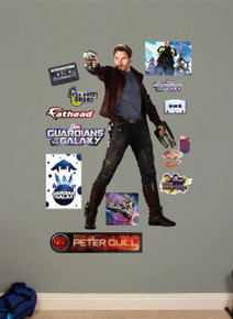 Peter Quill / Star Lord Marvel Guardians of the Galaxy Fathead Wall Art