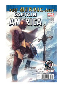 Captain America #608 Comic Book from Marvel Comics