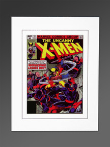 Uncanny X-Men #133 Matted Marvel Cover Art Silver Age John Byrne Hellfire Club