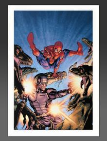 Spider-Man Canvas Giclee Marvel Artworks Collection Heroes For Hire #7