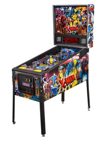 Marvel Comics X-MEN PRO PINBALL MACHINE by Stern. NEW in Box with Free Shipping in the US  Now you can be a pinball wizard with all the sleepless nights you'll be playing this in your media room. The Marvel Comics X-Men Pro Pinball Machine from 2012. Produced exclusively by Stern.