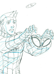 Flash has a bit of a freakout when asked to play Spider-Man in the high school musical