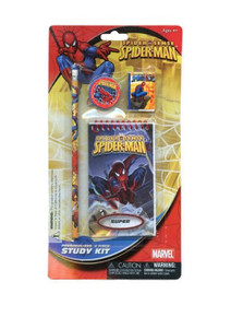 Peter Parker makes a great study buddy with this Spider-Man study kit