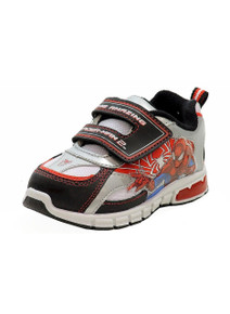 The Amazing Spiderman 2 Boy's SPS904 Fashion Light Up Sneaker Shoes Size 7 Kids