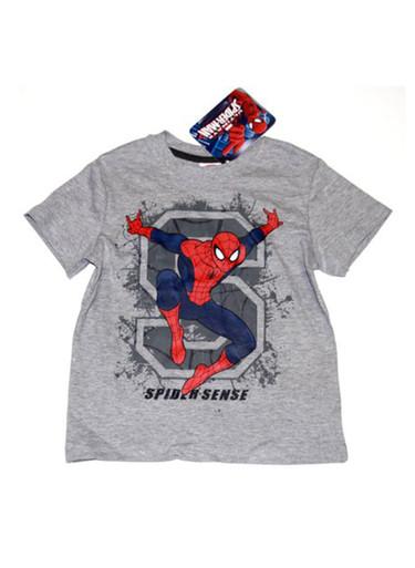 Spider Sense Spider-Man Boys T in Heather Grey