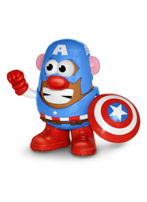 Marvel Comics Captain America Mr. Potato head figure