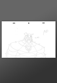 Marvel Avengers Assemble - The Destroyer - Animation Art   HeroWiz