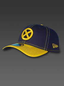 New Era X-Men 39thirty Hat Marvel Comics Heroes Blue Yellow NWT