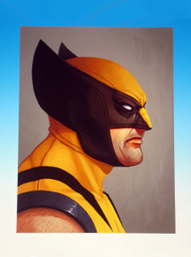 Mondo Mike Mitchell Wolverine Giclee Front