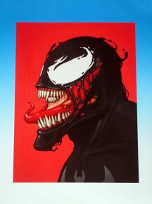Mondo Mike Mitchell Venom Giclee Front