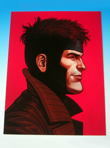 Mondo Mike Mitchell Gambit Giclee Front