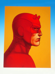 Mondo Mike Mitchell Daredevil Giclee Print Front
