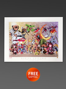 Marvel Universe the Golden Years - Art Print