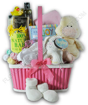The Ultimate Baby Girl Gift Basket