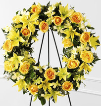 Yellow Wreath of Friendship