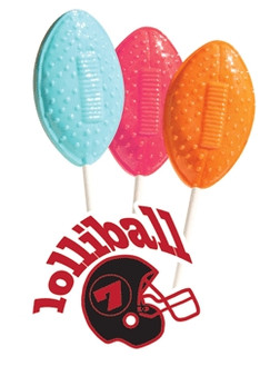 Football Lollipop Candy Fundraiser