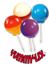 Yummy Lix Lollipops, 20 Flavors!