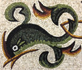 Mosaic Reproduction Kit by Michael Kruzich - Dolphin Cartouche