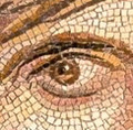 Mosaic Reproduction Kit by Michael Kruzich - Gypsy Girl Eye
