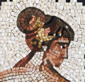 Mosaic Reproduction Kit by Michael Kruzich - Leda