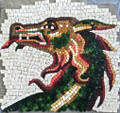 Mosaic Reproduction Kit by Michael Kruzich - Sea Dragon-Smalti
