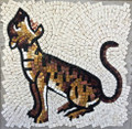 Mosaic Reproduction Kit by Michael Kruzich - Tiger Cub