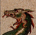 Mosaic Reproduction Kit by Michael Kruzich - Sea Dragon-Stone