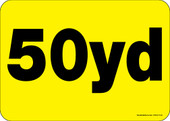 """5 x 7"""" 50 Yard Roll-Off Container Decal"""