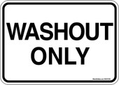 5 x 7 Washout Only Decal