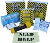 The Basic 3 Day Kit with Flashlight and First Aid