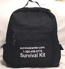 A Survival Pack for 1 person that can hold you over for 72 hours during an emergency.