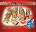 7 DAY GOURMET MEAL KIT FREEZE DRY POUCHES AA