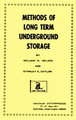 Methods of Long Term Underground Storage book