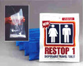 Restop Disposable Travel Toilet Bags for Liquid Waste