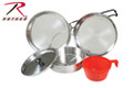 Stainless Steel Mess Kit 5 pc