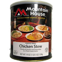 Chicken Stew Mountain House Freeze Dried Food #10 can