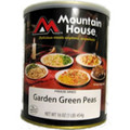 Garden Green Peas Mountain House Freeze Dried Food