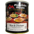 Rice and Chicken Mountain House Freeze Dried Food