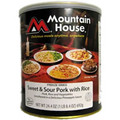 Sweet and Sour Pork With Rice Mountain House Freeze Dried Food
