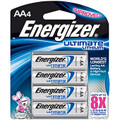 AA Rechargable Batteries Lithium 4 pk