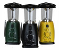 Lantern Led solar hand crank and radio. You may receive green or black our choice