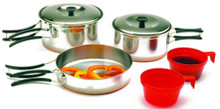 Stainless Steel Mess Kit 2 Person