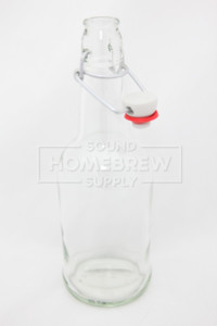 Bottle, EZ Cap - Clear 16 oz (case of 12)