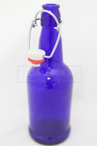 Bottle, EZ Cap - Cobalt Blue 16 oz (case of 12)