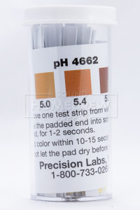 pH Test Strips Beermaking Range (4.6-6.2) 100 ct