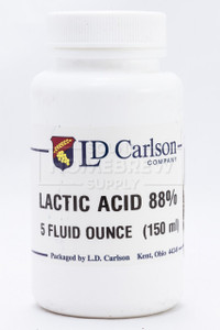 Lactic Acid 88% 5 oz